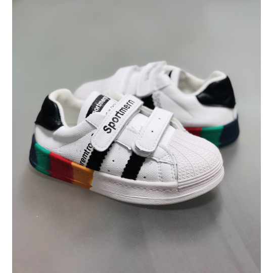 Кеды кроссовки 3669 белые