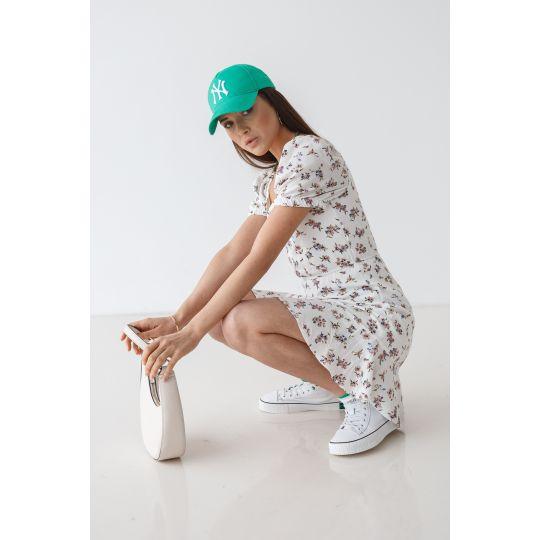 Платье Лакения 7086 молочное