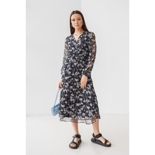 Платье Фолия 7213 черное