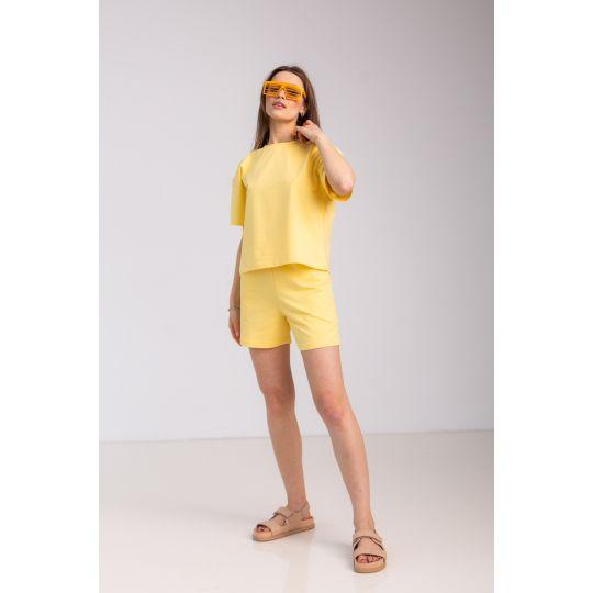 Спортивный костюм Сейтурий 7104 желтый