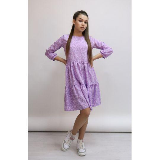 Платье 1369 лиловое