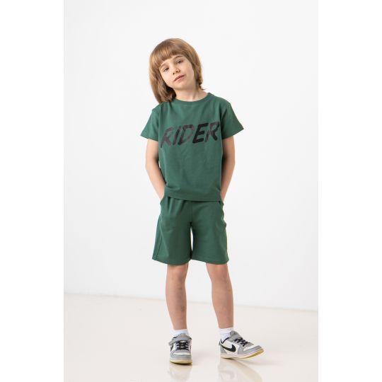 Спортивный костюм Акептей 7257 темно зеленый
