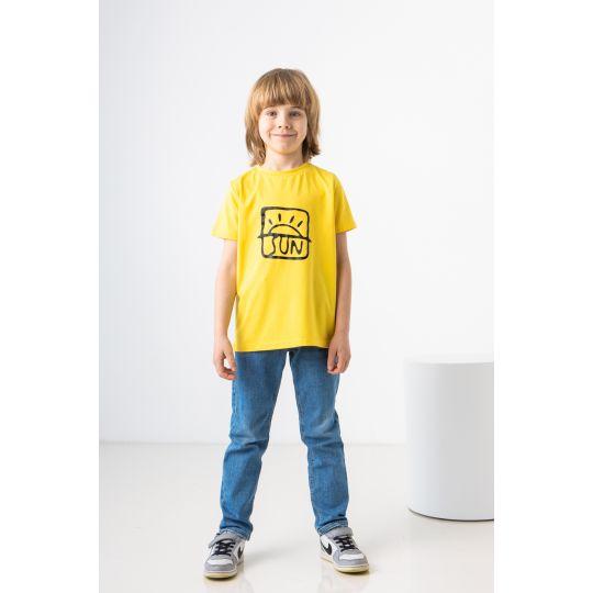 Футболка Нотей 7267 желтая