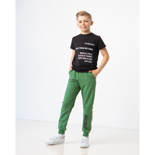 Спортивные штаны Лунар 7224 зеленые