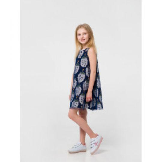 Платье 120318 серое