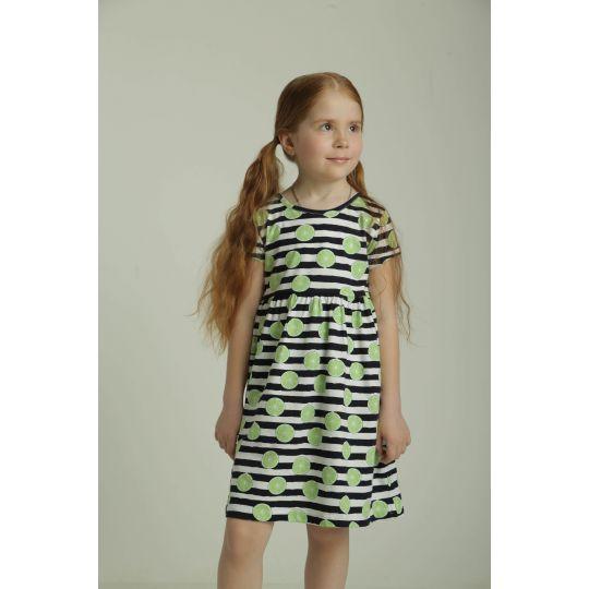 Платье 40941 лимончик