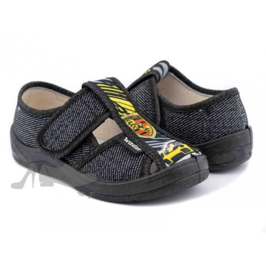Туфли текстильные 360/224-399 Паша черные Porshe