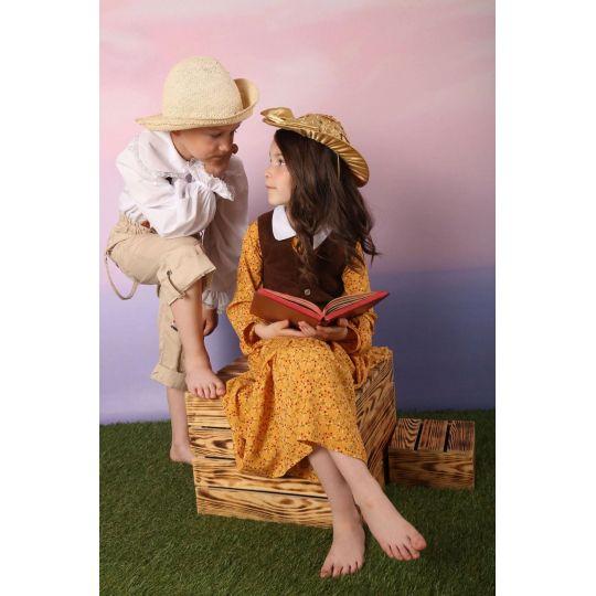 Карнавальный костюм Бекки,  Подружка Тома Сойера «Приключения Тома Сойера»