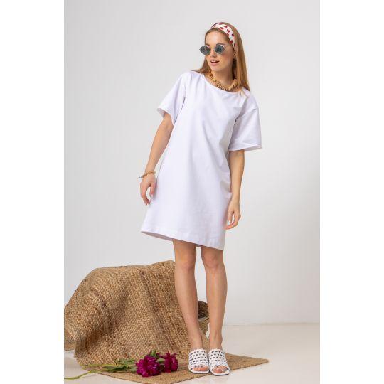 Платье Шайна 7581 белое