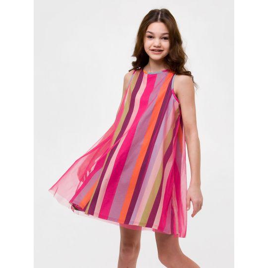Платье 120319 пудра