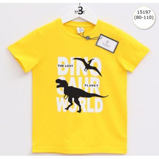 Футболка 15197 желтая