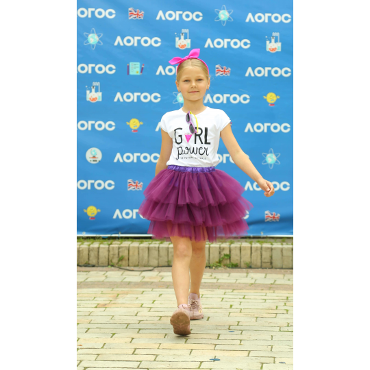 Юбка туту фиолетовая Olga