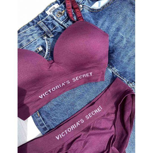 Спортивный комплект Victoria's Secret малиновый