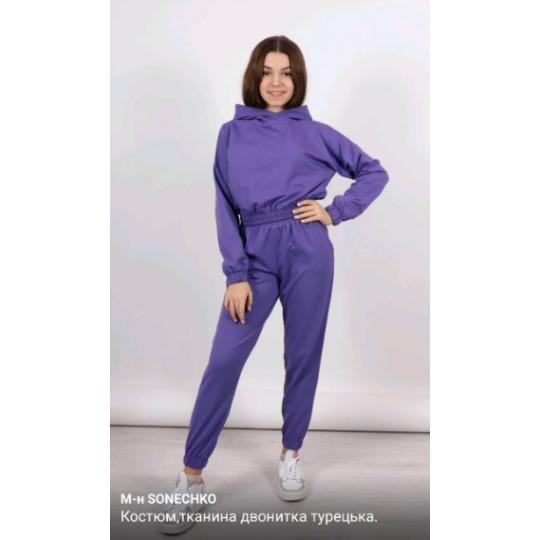 Спортивный костюм 1376 Pani фиолетовый