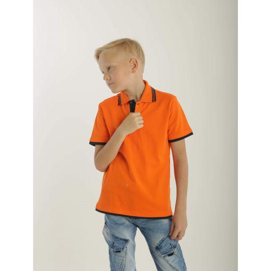 Футболка поло ORANG 10MD оранжевая