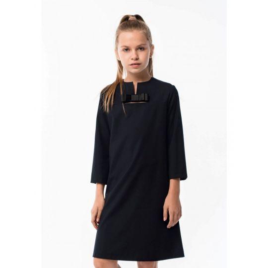 Платье ДШФ-99 темно-синее
