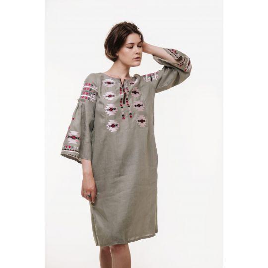 Вышиванка платье Яворына 2 В