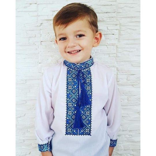 Сорочка вышиванка для мальчика 0821-001