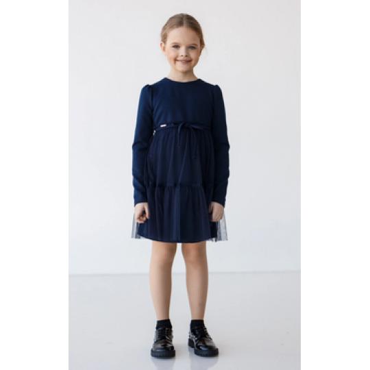 Платье Лилия синее