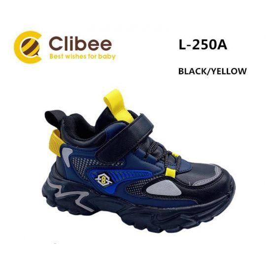 Кроссовки L250A сине-желтые