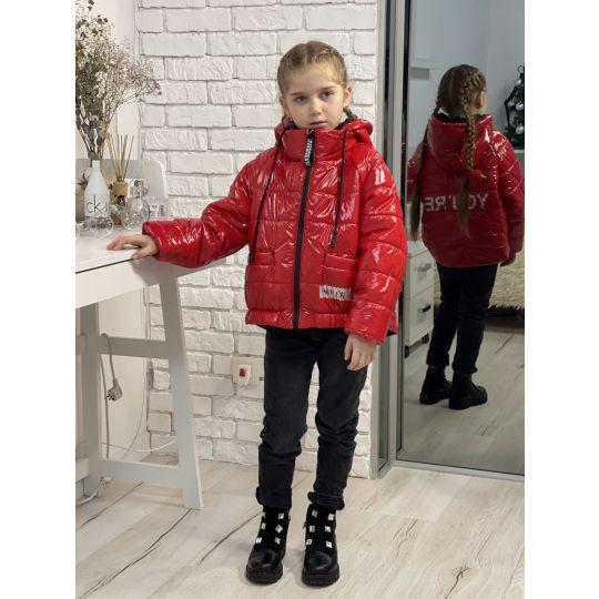 Куртка 21-18 красная