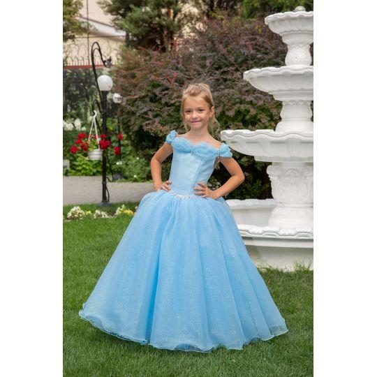 Нарядное бальное платье 13708