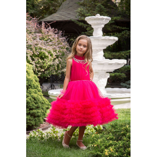 Нарядное бальное платье 13714