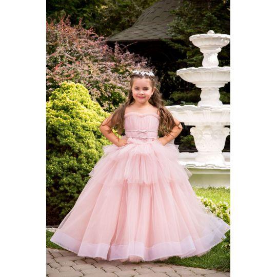 Нарядное бальное платье 13717