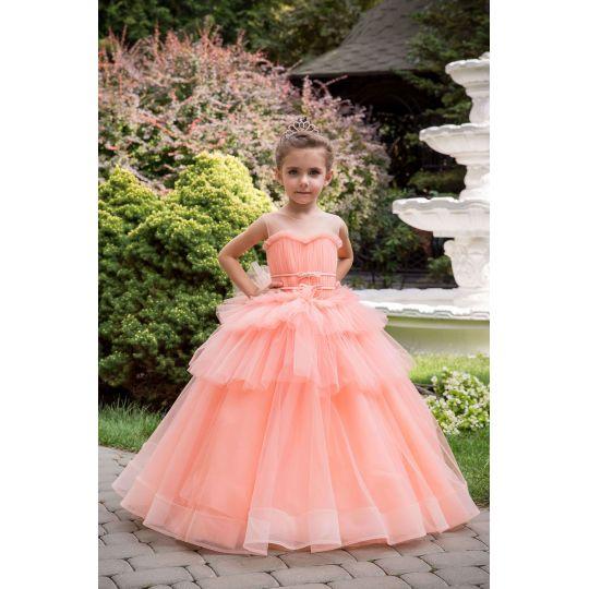 Нарядное бальное платье 13718