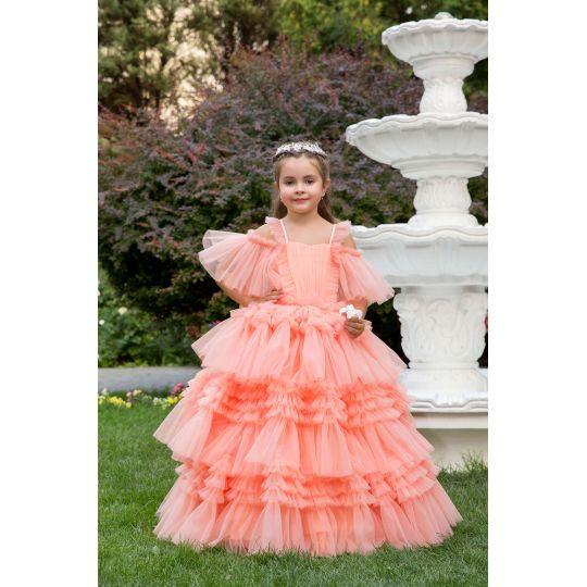 Нарядное бальное платье 13721