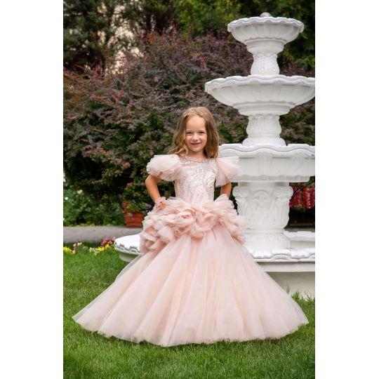 Нарядное бальное платье 13729