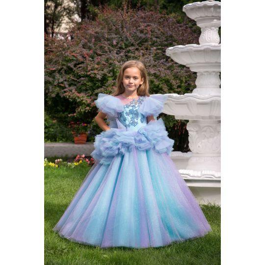 Нарядноебальное платье 13730