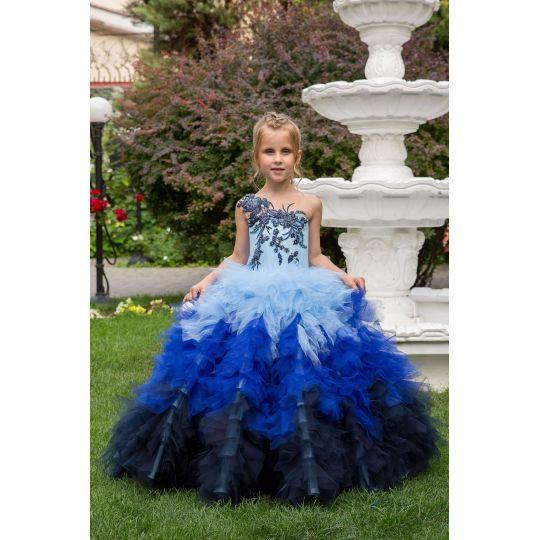 Нарядное бальное платье 13732