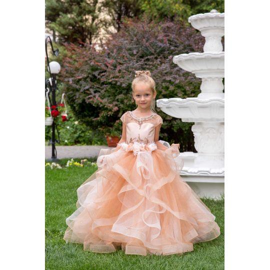 Нарядное бальное платье 13733