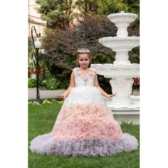 Нарядное бальное платье 13735