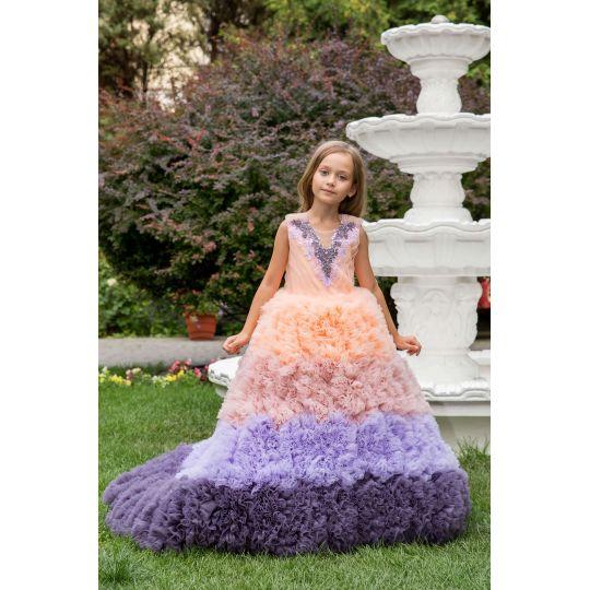 Нарядное бальное платье 13736