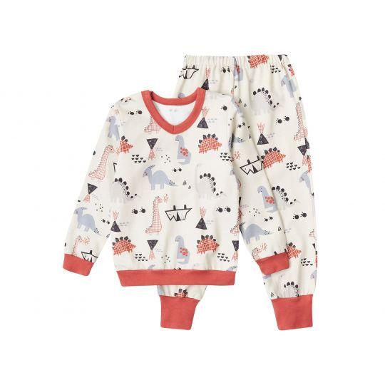 Пижама Серая Дино К3ФТ143
