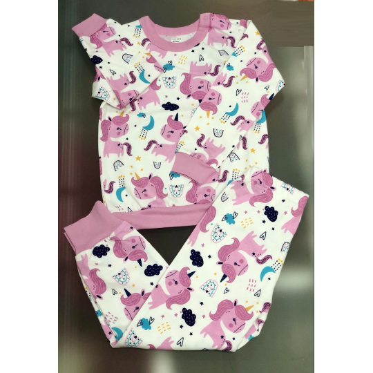 Пижама Единорожки К3ФТ152