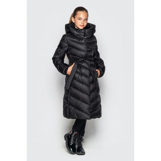 Куртка пальто Келли черное