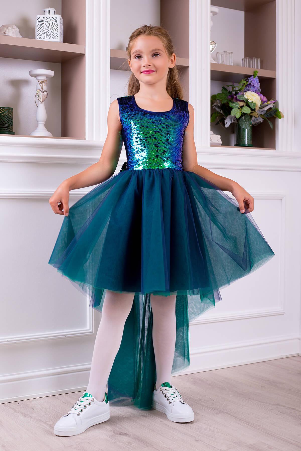 купить бу нарядное платье для девочки